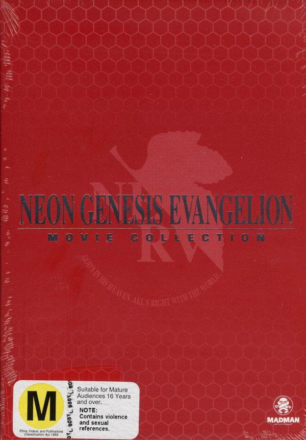 Neon Genesis Evangelion Movie Collection on DVD image