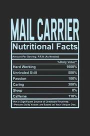 Mail Carrier Nutritional Facts by Dennex Publishing
