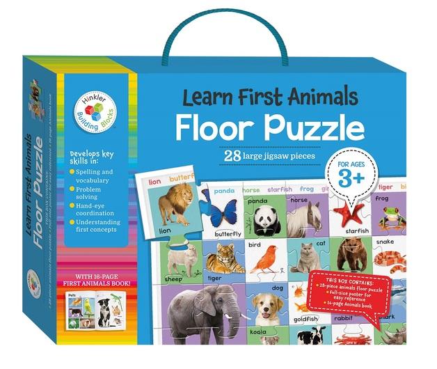 Hinkler: My First Animals - Floor Puzzle