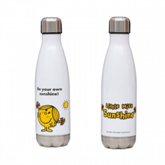 Mr. Men Little Miss: Little Miss Sunshine Stainless Steel Drink Bottle