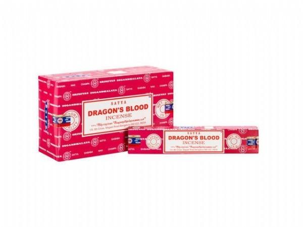 Satya Dragons Blood Incense image