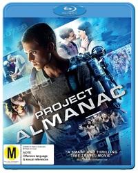 Project Almanac on Blu-ray