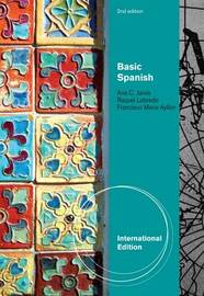 Basic Spanish by Ana C Jarvis image