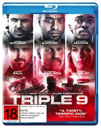 Triple 9 on Blu-ray