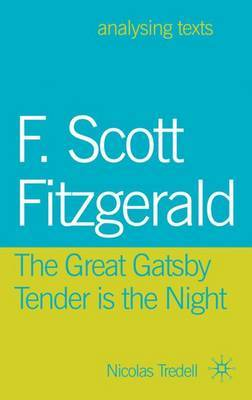 F. Scott Fitzgerald: The Great Gatsby/Tender is the Night by Nicolas Tredell