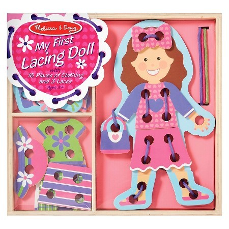 Melissa & Doug: My First Lacing Doll image