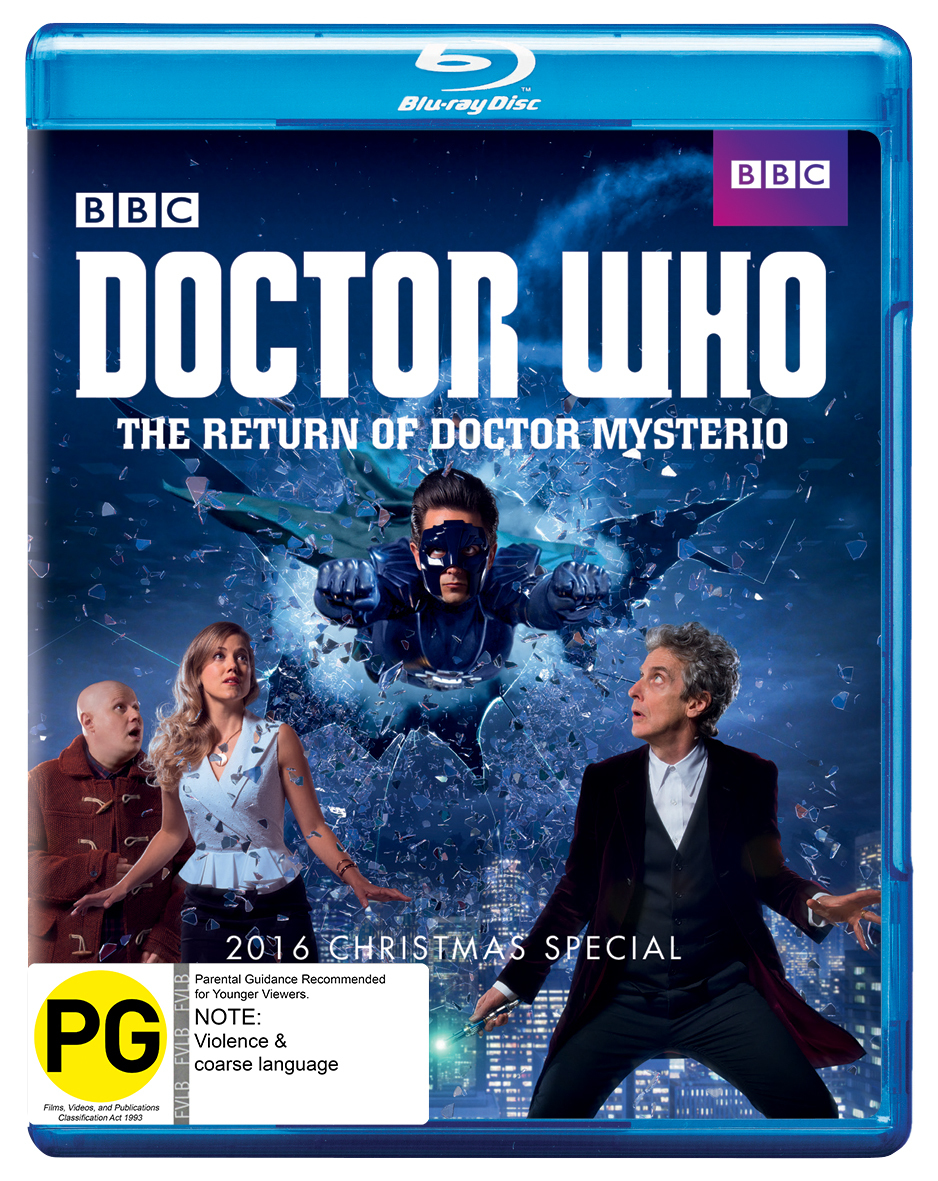 Doctor Who - The Return Of Doctor Mysterio (2016 Christmas Special) on Blu-ray image
