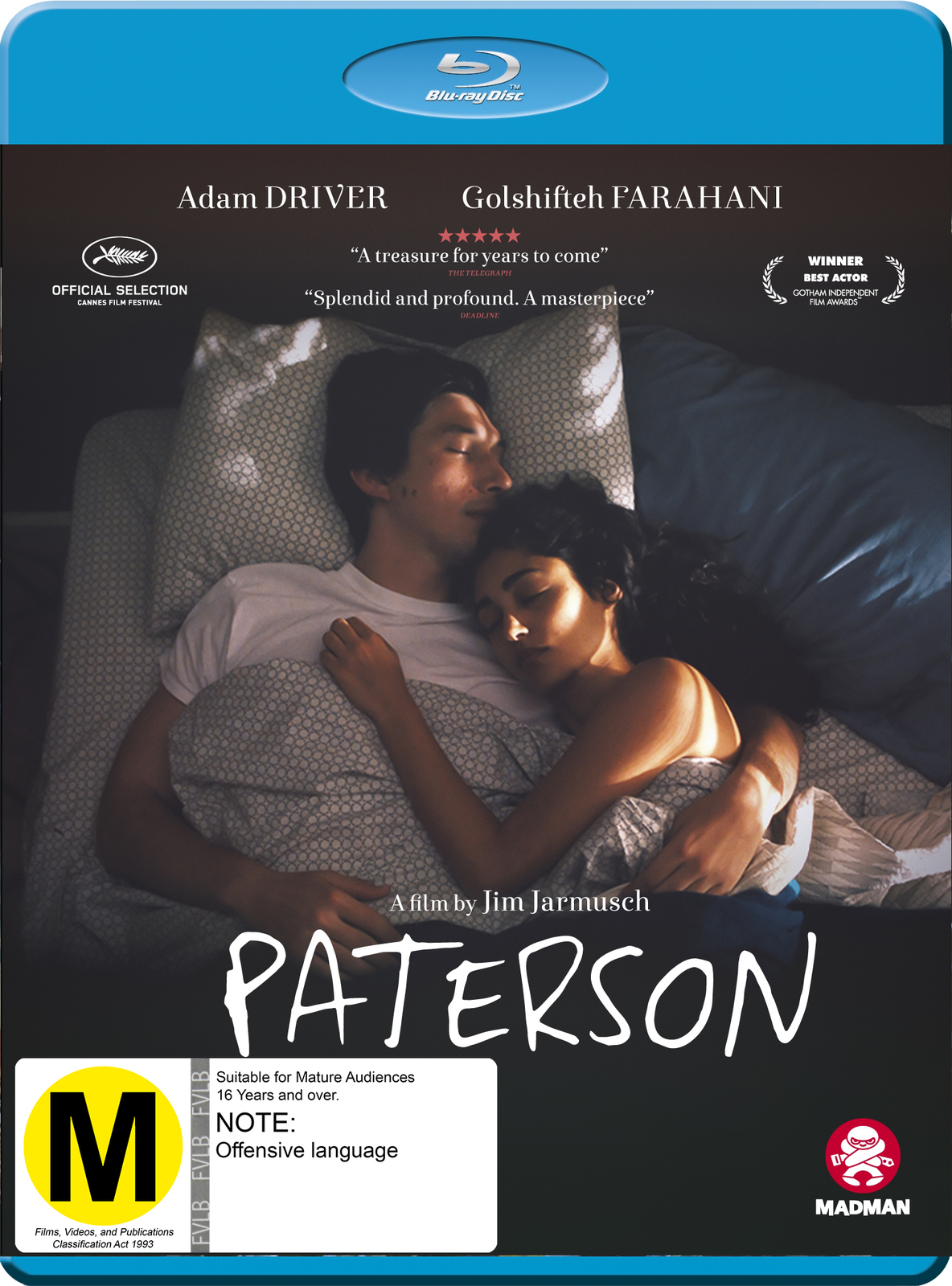 Paterson on Blu-ray image