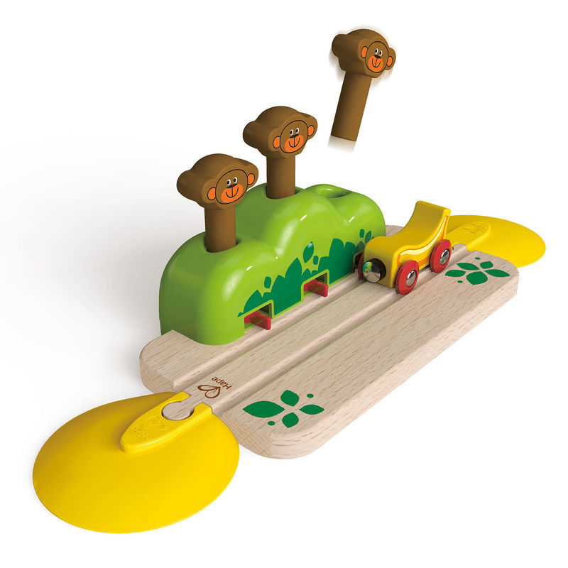 Hape: Monkey Pop Up Track image