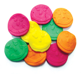 Rainbow Faces Lollies 1kg - Rainbow Confectionery