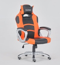 Playmax Gaming Chair Orange and Black for  image