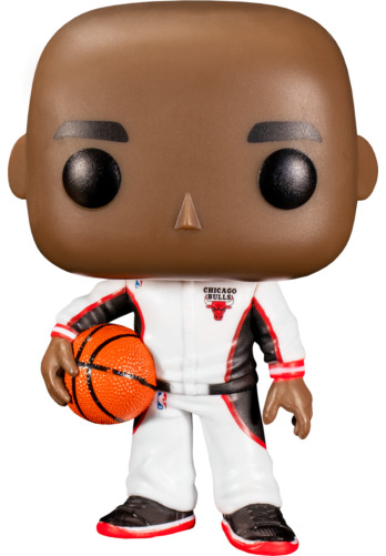 NBA: Bulls - Michael Jordan (White Warmup) Pop! Vinyl Figure
