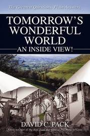 Tomorrow's Wonderful World by David C. Pack image