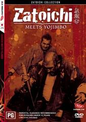Zatoichi - Meets Yojimbo on DVD