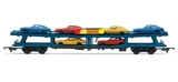 Hornby RailRoad Car Transporter Bogie Wagon - 00 Gauge