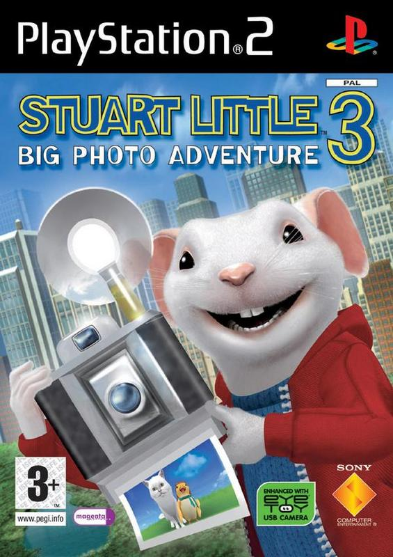 Stuart Little 3: Big Photo Adventure for PlayStation 2