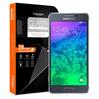 Spigen Glas.tR Slim Screen Protector for Galaxy Alpha