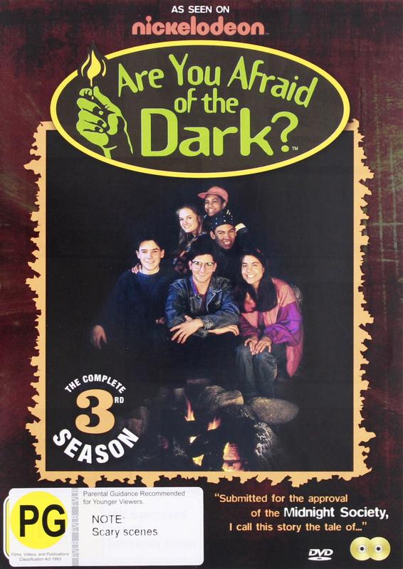 Are You Afraid Of The Dark? - Season Three on DVD