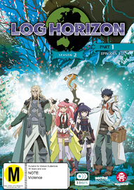 Log Horizon Season 2 Part 1 (eps 1-13) DVD