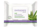 Swisspers Facial Wipes - Aloe (25s)