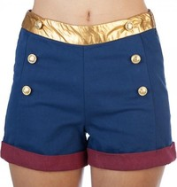 DC Comics: Wonder Woman - High Waisted Shorts (Medium)