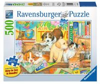 Ravensburger : Pet on Tour Puzzle Large Format 500pc