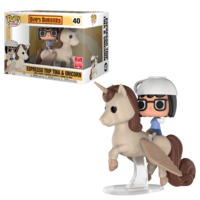 Bob's Burgers - Tina on Unicorn Pop! Ride Vinyl Figure image