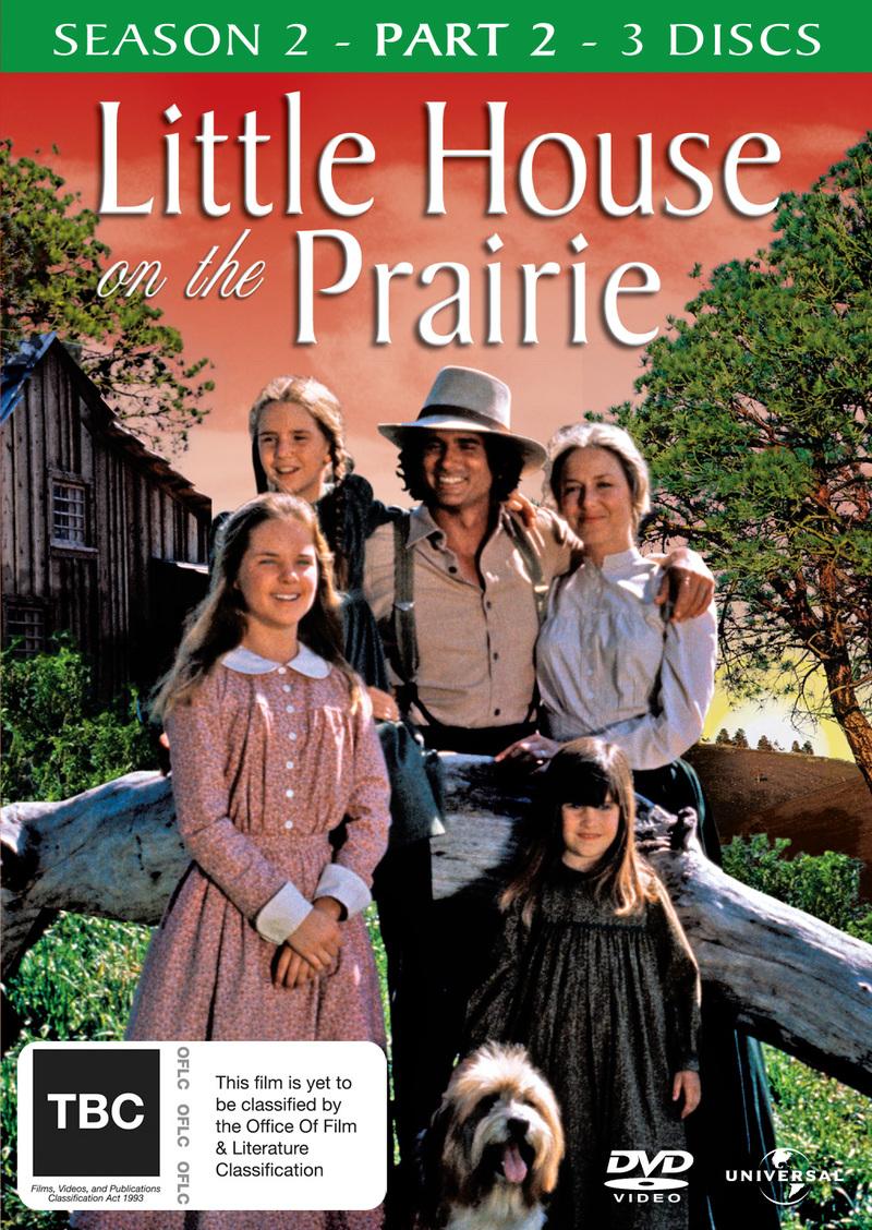 Little House On The Prairie - Season 2: Part 2 (3 Disc Set) on DVD image