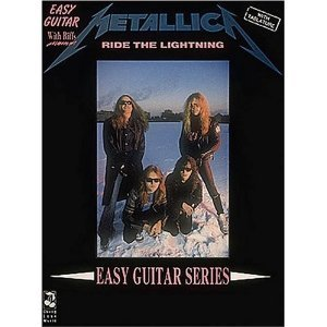 Metallica: Ride the Lightning: Easy Guitar and Vocal