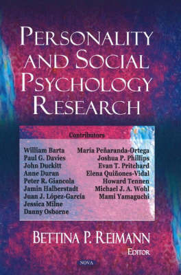 Personality & Social Psychology Research