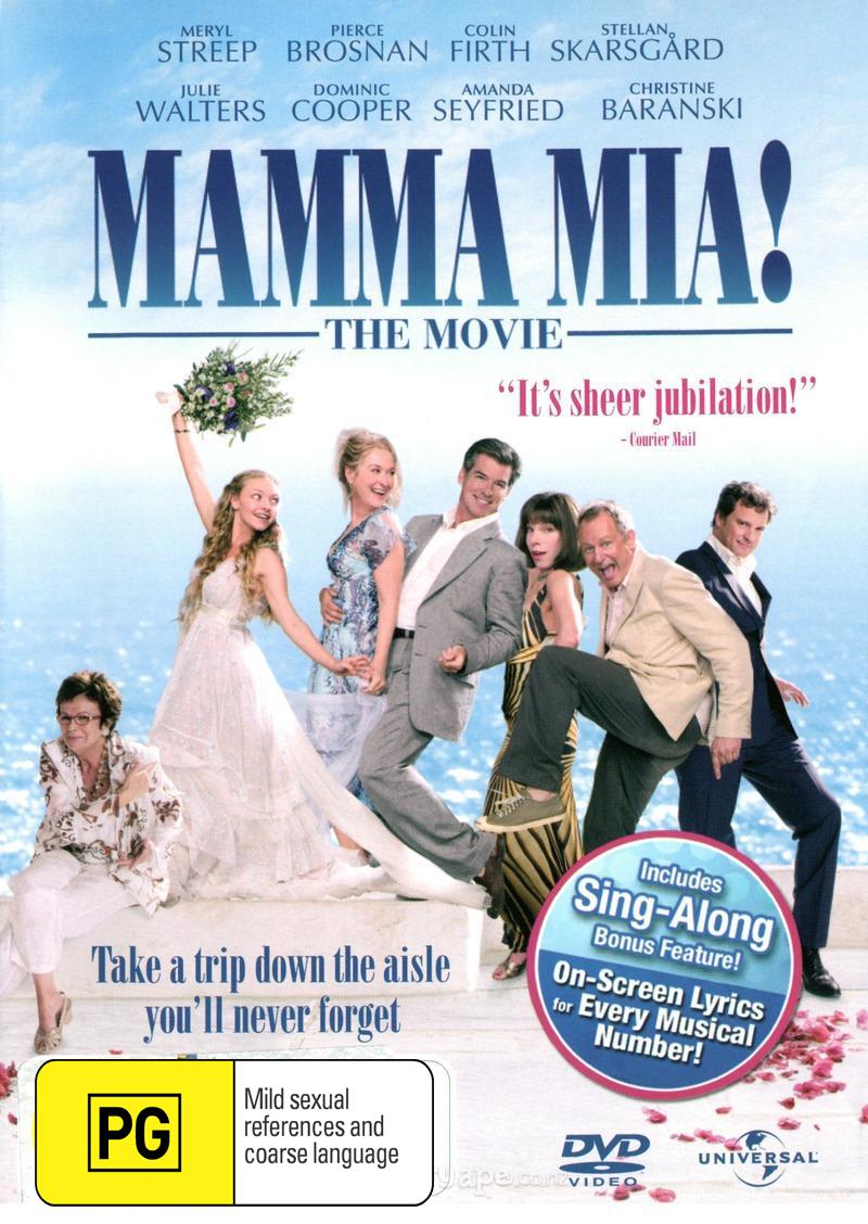 Mamma Mia!: The Movie on DVD image