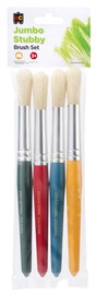 EC Colours - Round Stubby Brush - Pack of 4