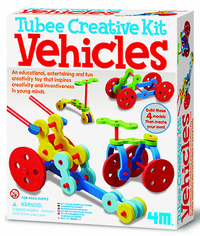 4M: Craft - Tubee Creative Kit Vehicles
