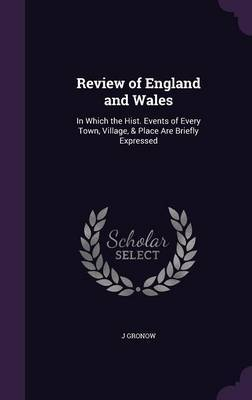 Review of England and Wales by J Gronow image