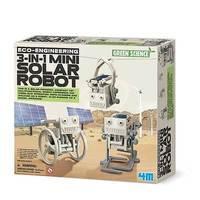 4M: Science - Eco-engineering 3-in-1 Mini Solar Robot