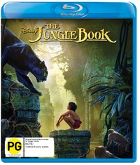 The Jungle Book (2016) on Blu-ray