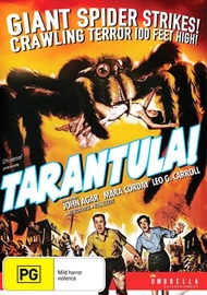 Tarantula on DVD