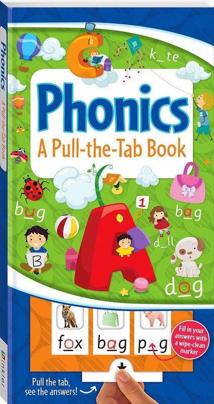 Pull-the-Tab Board Book: Phonics by Hinkler Books Hinkler Books