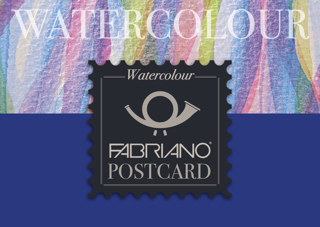 Fabriano: Watercolour Postcard 300gsm Cold Pressed - 10.5x14.8cm