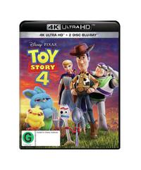 Toy Story 4 (4K UHD + Blu-ray) on UHD Blu-ray