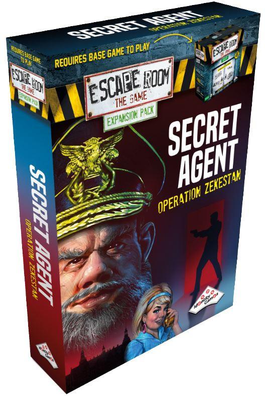 Escape Room: The Game - Secret Agent Expansion