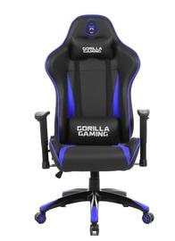 Gorilla Gaming Commander Chair - Blue & Black for