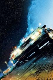 Back to the Future: Premium Art Print - DeLorean