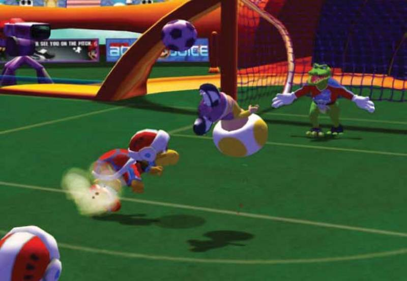 Mario Smash Football for GameCube image