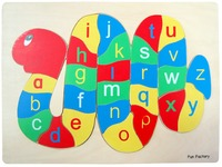 Fun Factory - Snake Alphabet Raised Puzzle