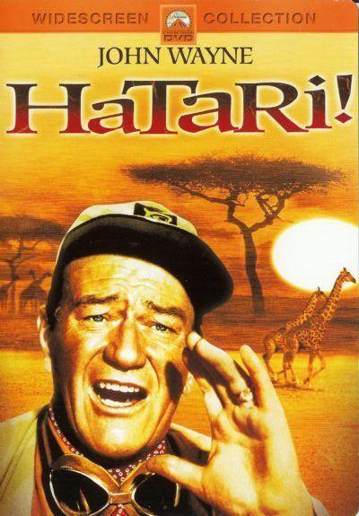Hatari! (Repackaged) on DVD