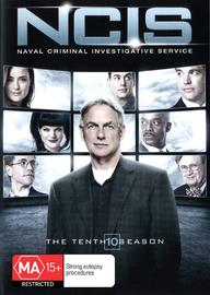NCIS - The Tenth Season on DVD