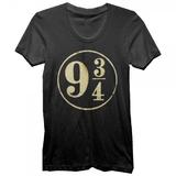 Harry Potter 9 3/4 Foil T-Shirt (Small)