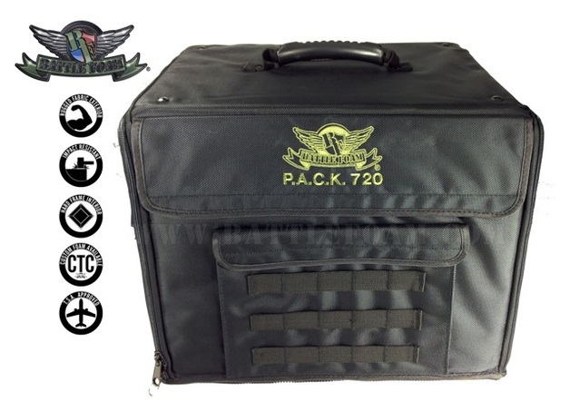 P.A.C.K. 720 Molle Standard Load Out (Black)