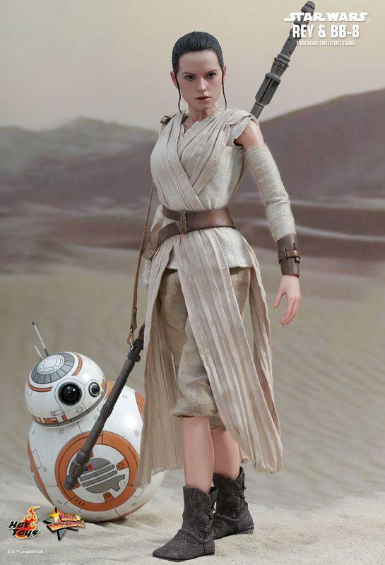 "Star Wars: The Force Awakens - 12"" Rey & BB-8 Figure Set"